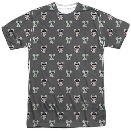 We Bare Bears Koala NOM NOM Adult Front Only Print Polyester T-Shirt S-3XL
