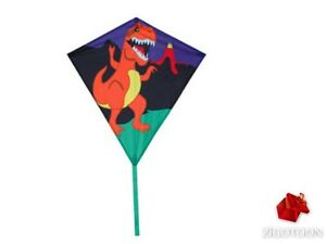 Easy Flyer Diamond Kite Dinosaur T-rex, Outdoor Wind Game For Child Cy6faq7f-07183749-928337206