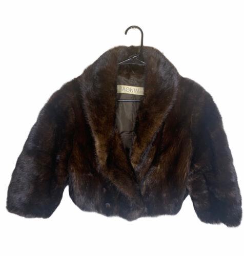 I Magnin & Co Vintage Mink Fur Stole