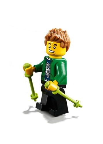 Lego City Outdoor Minifigure with Walking Sticks 60202 Hiker
