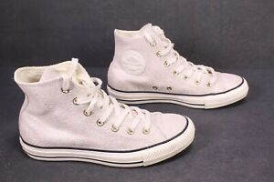CB116 Converse All Star High-Top Sneaker Gr. 37,5 beige-rosa irisierend Leder