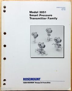 Rosemount 1151 differential pressure transmitter manual