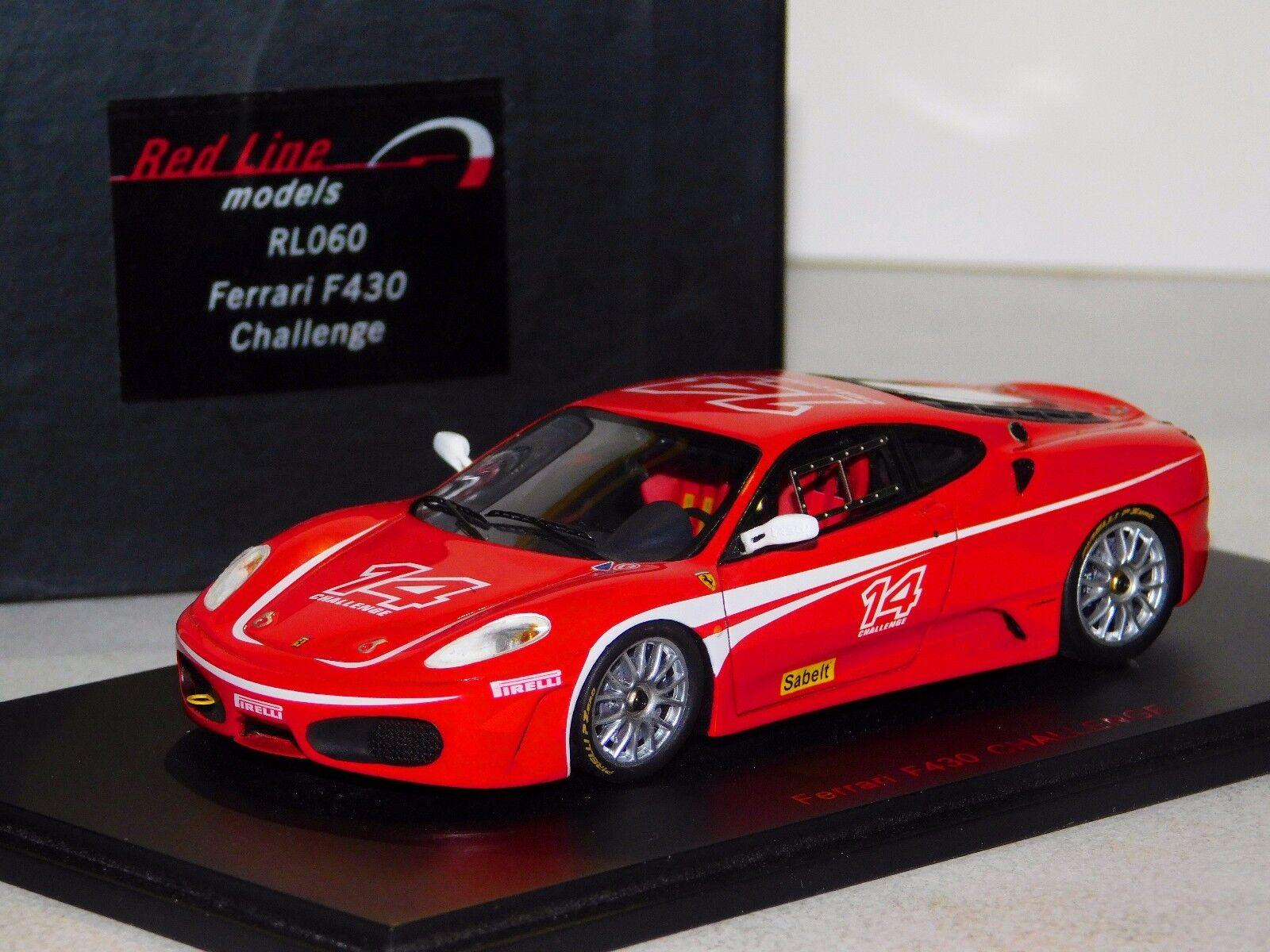 FERRARI F430 CHALLENGE rossoLINE rossoLINE rossoLINE RL060 1:43 b9e85c