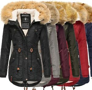 Navahoo Damen Winter Mantel Winterparka La Viva XS-3XL