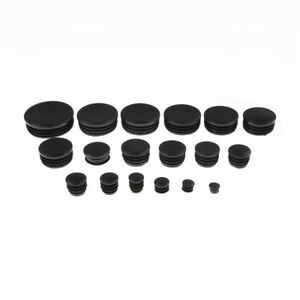 Image Is Loading 4PCS Round Plastic Chair Leg Glide Cap Plug