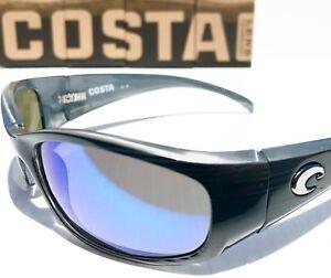3bcafc4c7b5 NEW  Costa HAMMERHEAD Silver Blue w POLARIZED GLASS Mirror Sunglass ...