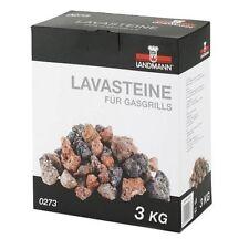 Piedras de lava Pack 3kg Reemplazo piedras de gas de barbacoas Chef Barbacoa Grill Barbacoa Sabor