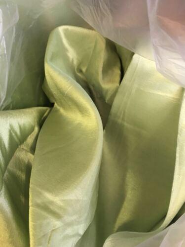 pale green hard lining fabric costume curtain wedding decoration crepe fabric