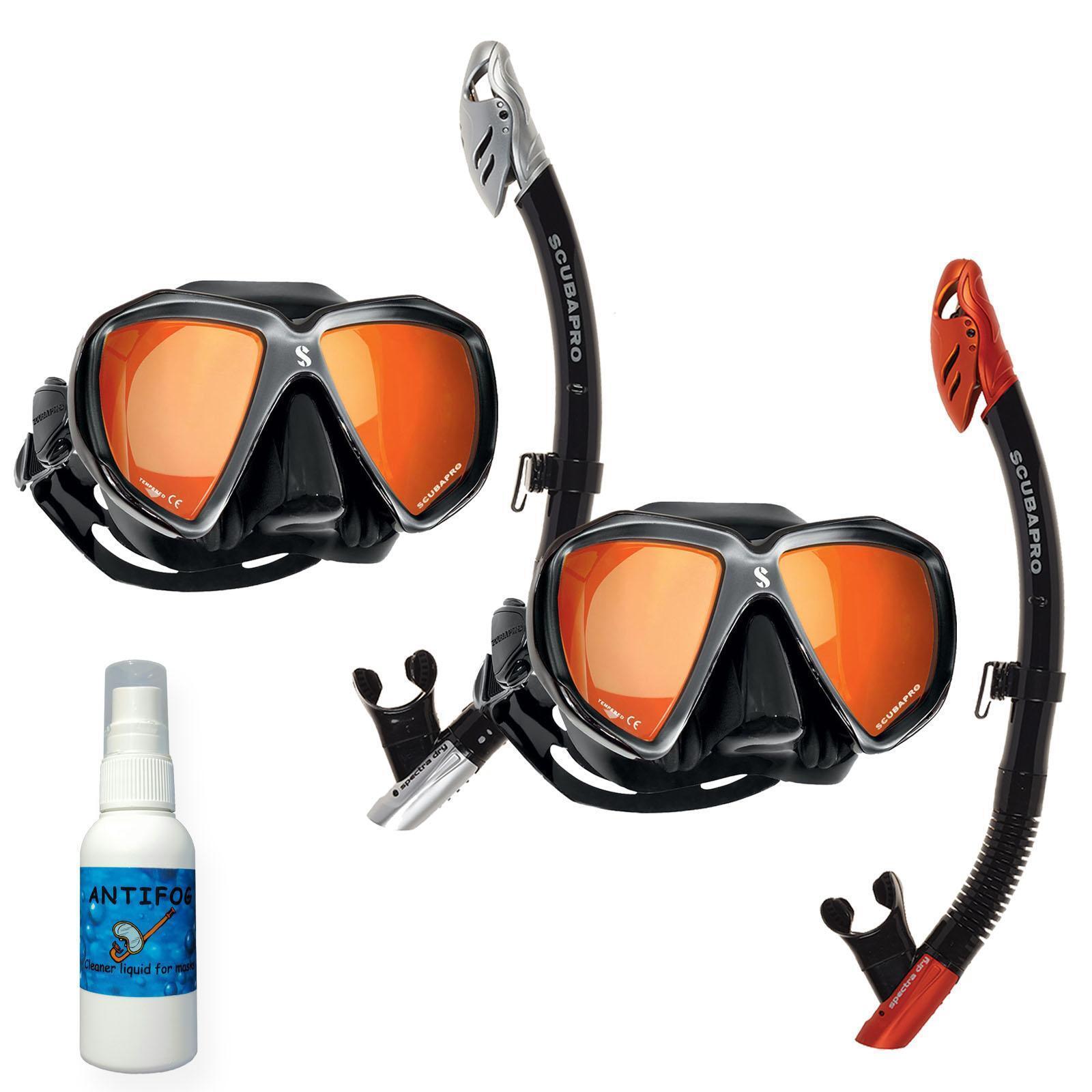 Scubapro Premium Snorkel Set Mirror Spectra