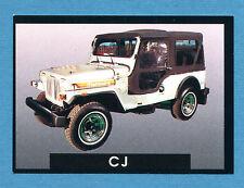 AUTO - Stickline - Figurina-Sticker n. 184 - MAHINDRA CJ -New