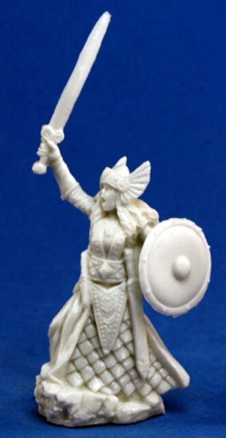 1 x AINA VALKYRIE - BONES REAPER figurine miniature pathfinder guerriere 77052