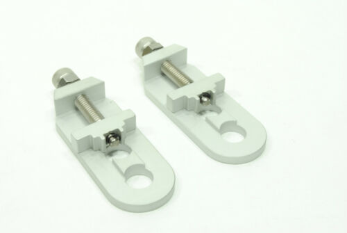 Redline BMX Bicycle Bike Chain Tensioner Adjusters Pair Silver