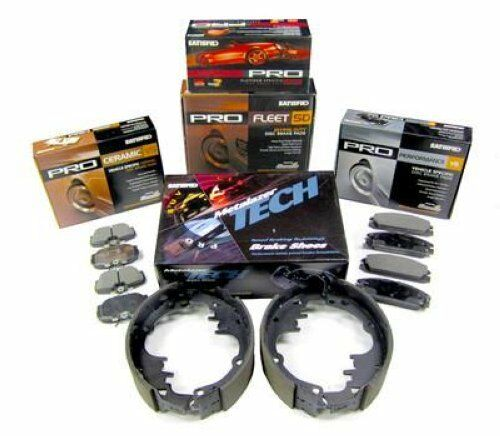 Satisfied PR376C *NEW* Front Ceramic Disc Brake Pads with Shims