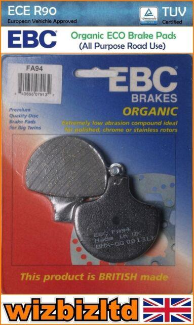 EBC avant Droit Plaquette de Frein [Organique] [Type : Gg Série ] FA094