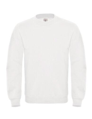 Herren Sweatshirt Fair Wear Rundhals Pullover Gr.XS,M,L,XL,XXL in 18 Farben BC20