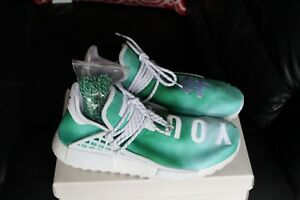 new concept 50e58 d30e4 Details about adidas Pharrell NMD HU China Pack Youth (Green)
