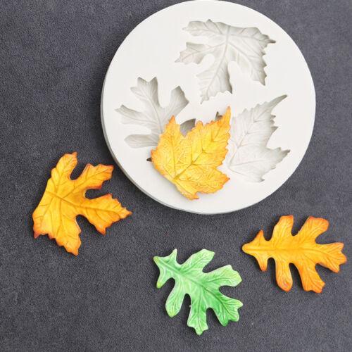 Silicone Leaf Flower Fondant Icing Mould Cake Decorating Mold Sugarcraft Tool