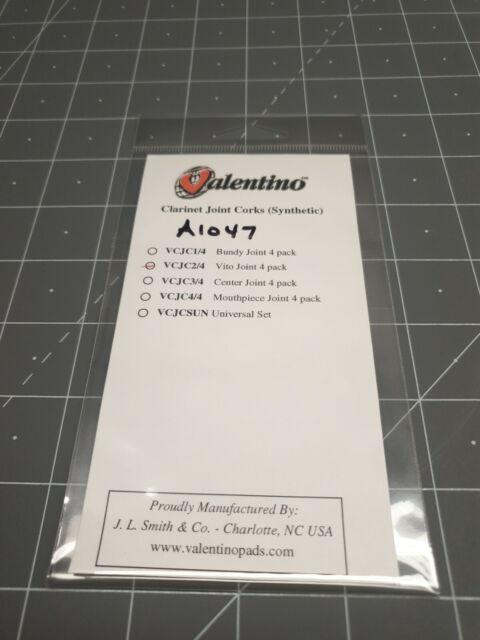 "4 pk 700323 7//16/"" Valentino Clarinet Synthetic Joint Corks"