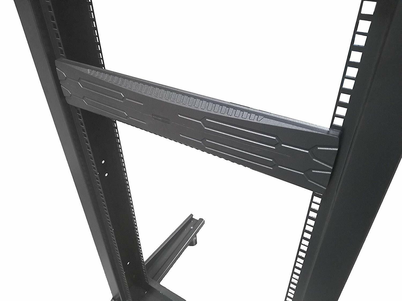 "19/"" 1U Flat Black ALUMINIUM Blanking Rack Mount Panel 3mm Thickness"