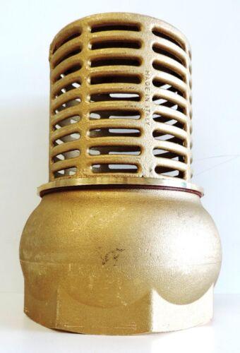NEW Foot Valve Brass 75mm 3 BSP 80mm Footvalve 3