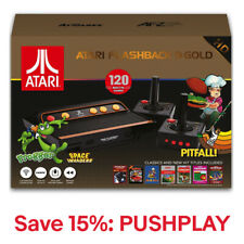 Atari Flashback 9 Gold HD Retro Classic Gaming Console with 120 Built-in Games