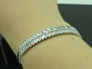 Turkish-Handmade-Jewelry-925-Sterling-Silver-Zircon-Stone-Women-Bangle
