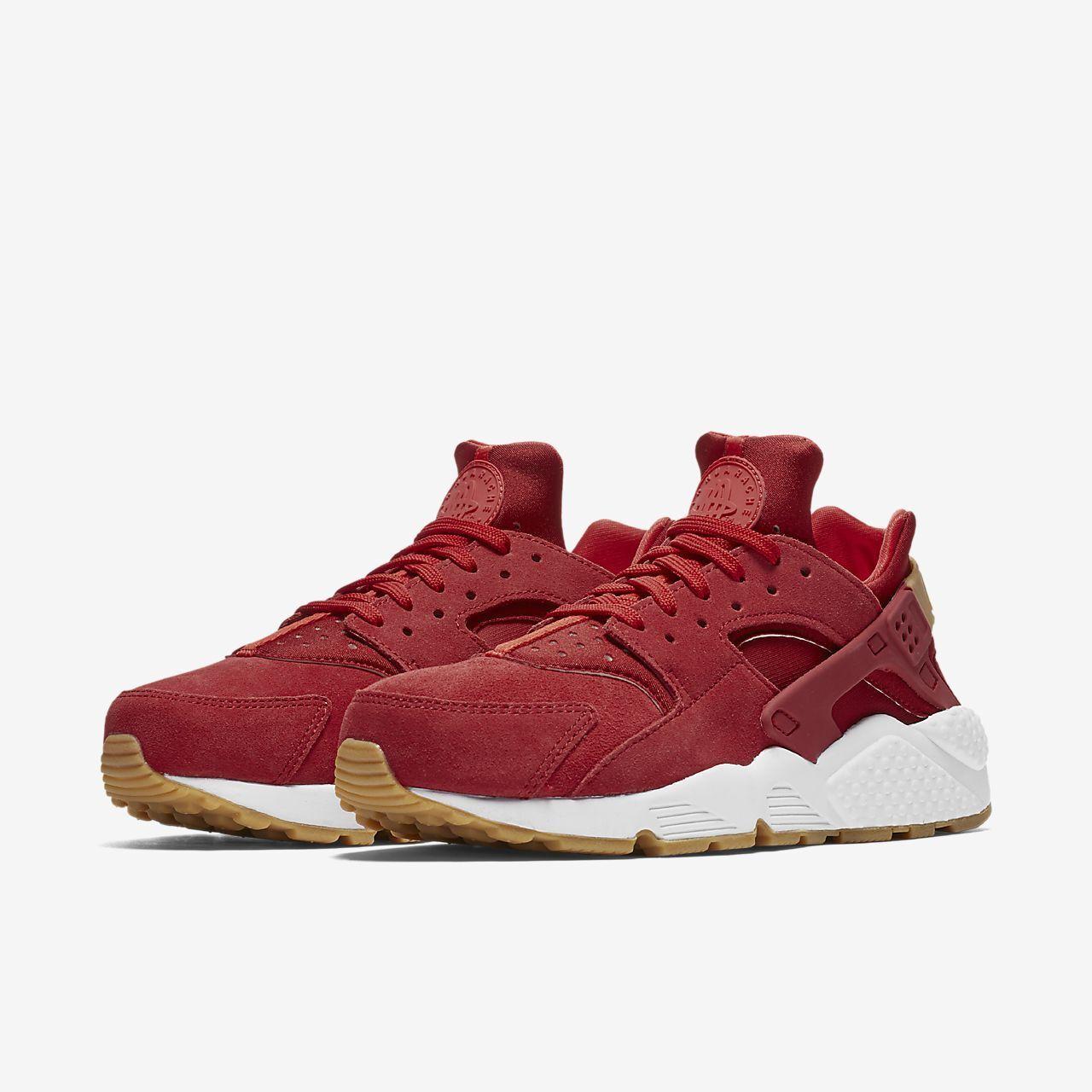 Wild casual shoes NIKE WOMENS AIR HUARACHE RUN AA0524-601 RED BURGUNDY WINE RUNNING GIRLS RETRO OG