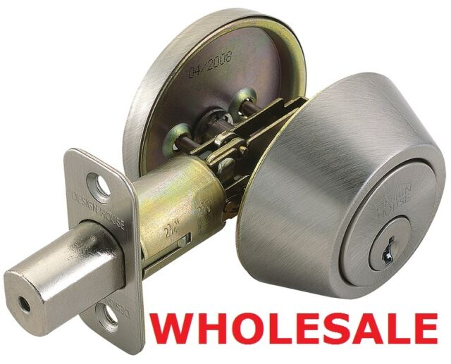 Great NEW WHOLESALE Design House Single Cylinder Deadbolt For Security/safety