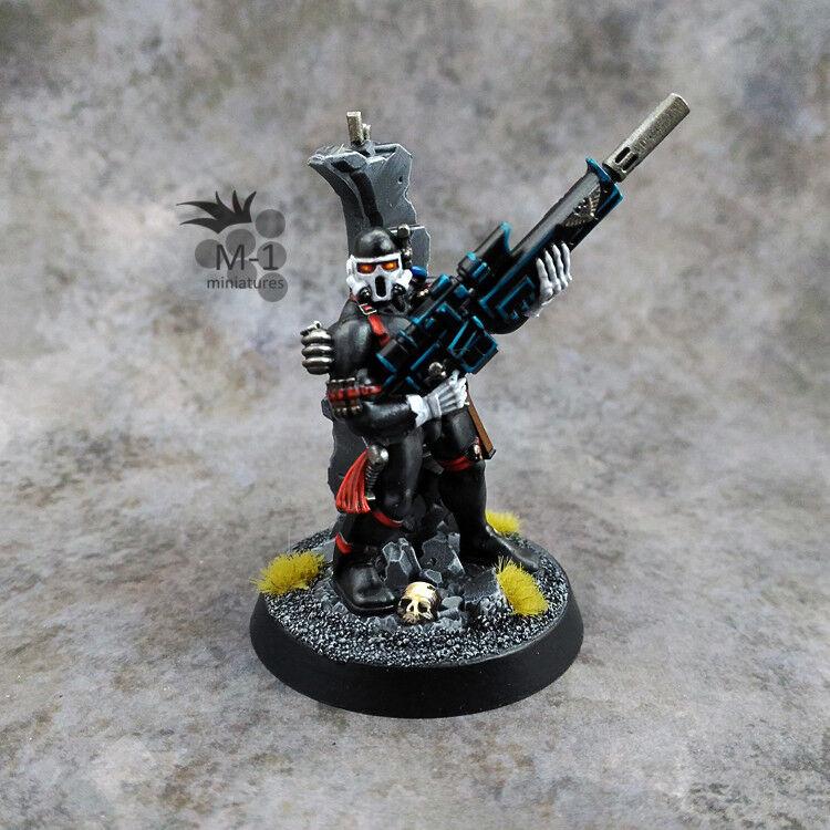 Warhammer 40k gris Knights Vindicare Assassin M-1 pro-painted