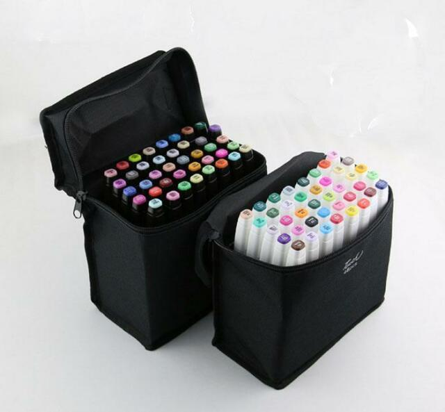 New Twin brush  30 Color Graphic Art Design Drawing  Pen Set