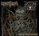 FLESHCRAWL / SKINNED ALIVE Tales of Flesh & Skin DigiCD First Edit. Death Metal