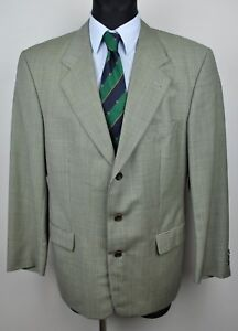 534d7df1b43 HUGO BOSS Tweed Houndstooth Men's Blazer UK 42 Suit Jacket Eur 52 ...