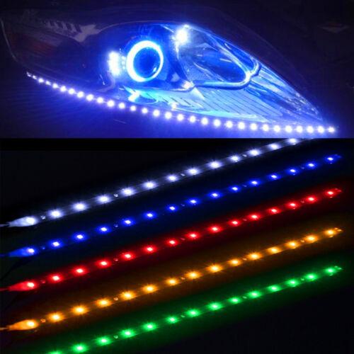 Moto styling 4pcs Green 15SMD LED Waterproof Flexible Strip Light for Yamaha