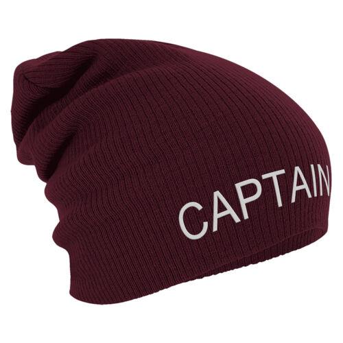 SLOUCH LONG BEANIE winterbeanie bonne nuit de Avec Stick Motif Capitaine 55227 Bordeaux