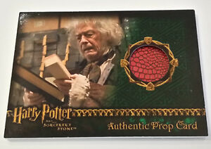 Harry-Potter-and-the-Sorcerer-039-s-Stone-Red-Wand-Box-Olivander-039-s-Prop-Card-SS-756