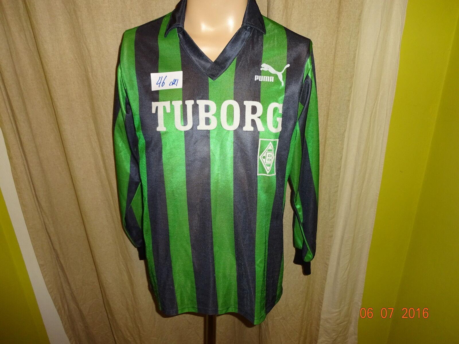 Borussia Mönchengladbach Original Puma Langarm Trikot 1991 92  TUBORG TUBORG TUBORG  Gr.S 8e8d9e