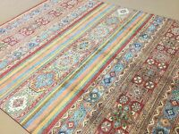 8'.2 X 10'.1 Multicolor Oushak Persian Oriental Area Rug Hand Knotted Wool