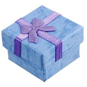 24-Pcs-Boites-de-Cadeaux-A-Bijoux-Carre-d-039-Affichage-avec-noeud-de-papillon-N5E2