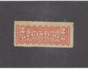 CANADA-KSG1472-F1-VF-MH-2cts-1875-REGISTERED-LETTER-STAMP-ORANGE-CV-150