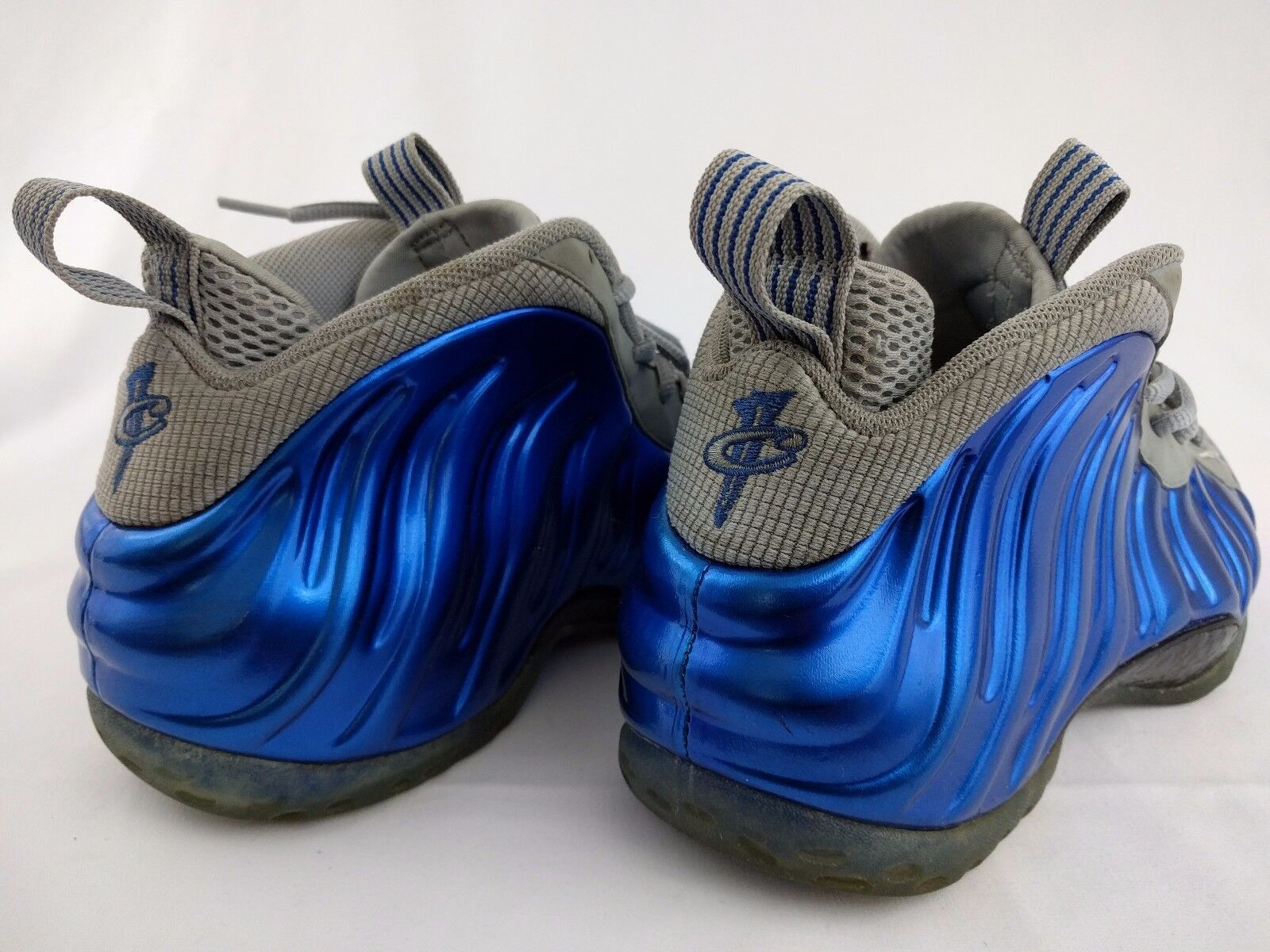 Nike Air Foamposite 1 Uno Sport Gioco Royal Blue 9 Wolf Grey Numero 9 Blue 314996-401 d2718b
