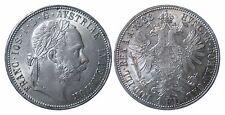 AUT J342    1 Florin 1888 in STG fein  447021