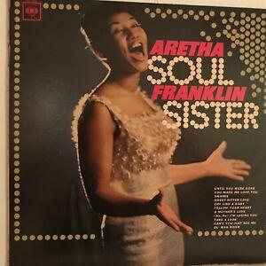 ARETHA  FRANKLIN            LP         SOUL  SISTER