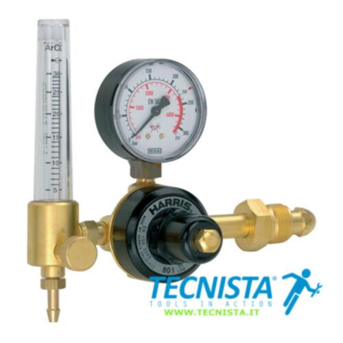 Harris regolatore di pressione PROFESSIONALE per saldatura argon con flussometro