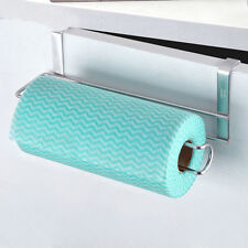 Stainless Steel Paper Towel Holder for Kitchen Under Cabinet Door/Drawer Brushed