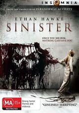 Sinister DVD NEW