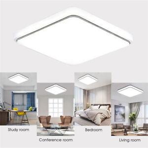 12W-24W-cuadrado-techo-LED-abajo-panel-de-luz-Lampara-de-pared-montaje-en-Cocina-Dormitorio