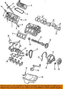 ford oem 99 00 mustang engine harmonic balancer xr3z6b321aa ebay rh ebay com