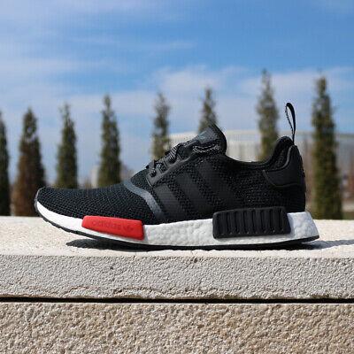 frotis jugo Seguro  adidas Originals NMD_R1 AQ4498 EU Foot Locker Exclusive Black Red ...