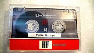 NEW-Speed-Calibration-Test-Tape-For-Cassette-Players-Decks-Boomboxes-Walkmen