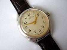 Rare URAL Big Size Russian Wrist Watch 16 J USSR 1950's